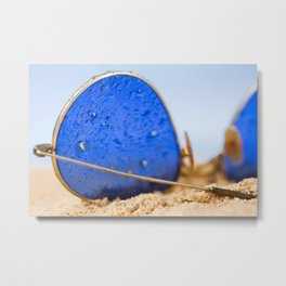 Vintage Sunglasses 3 Metal Print