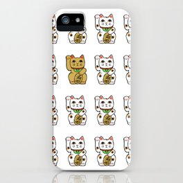Maneki neko iPhone Case