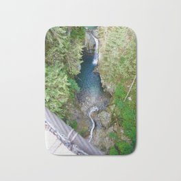 lynn canyon suspension bridge, 2017 Bath Mat