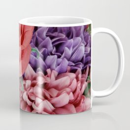 Red and Purple Flowers Coffee Mug