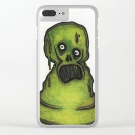 Sewer Dweller Clear iPhone Case