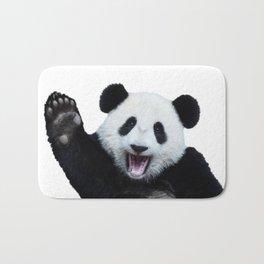 Panda Art Print Bath Mat