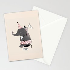 Circus is not funny for animals Stationery Cards