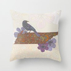 Hello Tennessee Throw Pillow