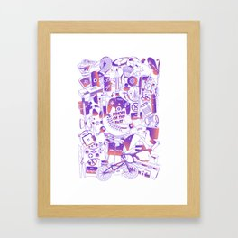 Echoes of the past Framed Art Print