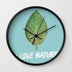 leaf-151 Wall Clock