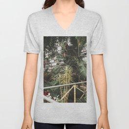 Tropical Botanic Garden Unisex V-Neck