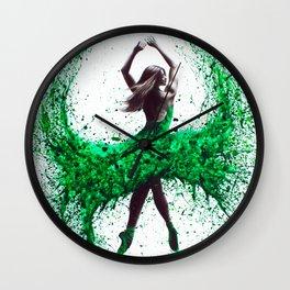 An Emerald Love Wall Clock