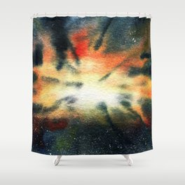 Void Concentrate Shower Curtain