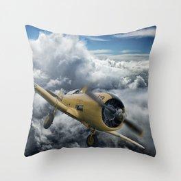 T-6 Texan Throw Pillow
