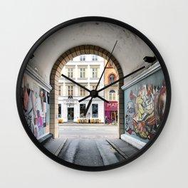Streetart Wall Clock