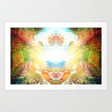 Consciousness Awakening Art Print