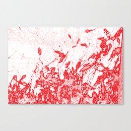 Coloured Rain Canvas Print