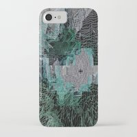 grid iPhone & iPod Cases featuring Grid by Leanne Miller