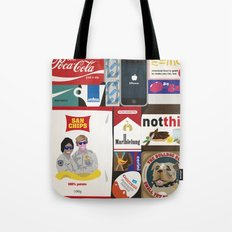 Consumption of goods Tote Bag