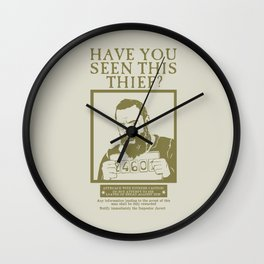 [ Les Miserables ] Jean Valjean Hugh Jackman Mis Wall Clock