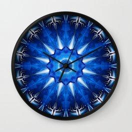 Galactic Winter Wall Clock