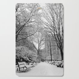 Gramercy Park, New York City Cutting Board