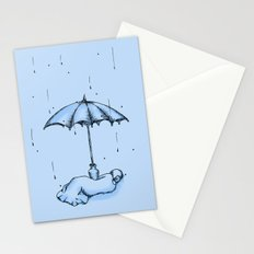 Rain Rain Go Away! Stationery Cards