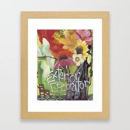 Exterior Decorator Framed Art Print