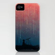 Meteor rain iPhone (4, 4s) Slim Case