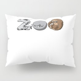 Zoo Keeper Zoologist Kids Animal Alphabet Gift Pillow Sham