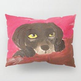 Jake, the Baby Labrador Pillow Sham
