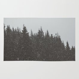Wintery Forest Rug