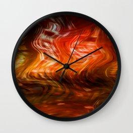 Liquify 2 Wall Clock