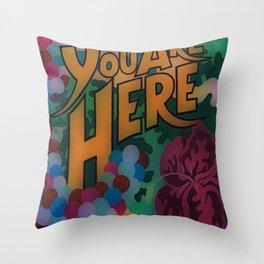 Colorful Reminder Throw Pillow