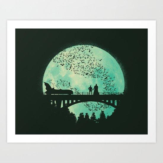 That's Amore Art Print