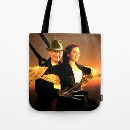 Freddie Krueger as Jack Dawson Tote Bag