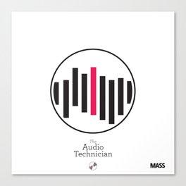 The Audio Technician Canvas Print