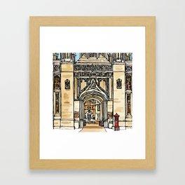 KINGS GATE Framed Art Print