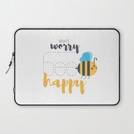 Don't worry BEE happy! Laptop Sleeve