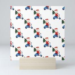 Italian Santas Mini Art Print