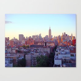 Empire State Building and the New York Skyline Canvas Print