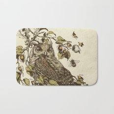 Great Horned Owl Bath Mat