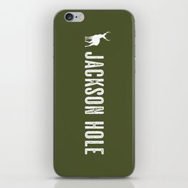 Deer: Jackson Hole, Wyoming iPhone Skin
