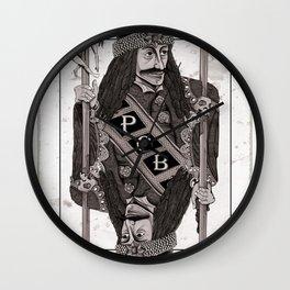 Vlad Impaler Wall Clock