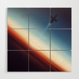Into Space Wood Wall Art