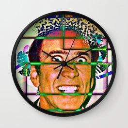 Nicolas caged Wall Clock