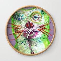 Dirty Bear Wall Clock
