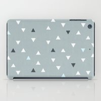 skiing iPad Cases featuring TRY ANGLES / alpine skiing by DANIEL COULMANN