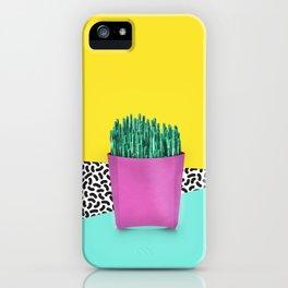 Cactus Fries 90s Style iPhone Case