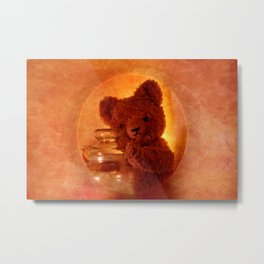 My Teddy Bear Toy Metal Print