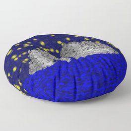 Starry Capri Floor Pillow
