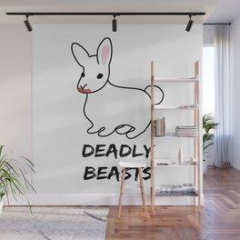 Deadly Beast Wall Mural