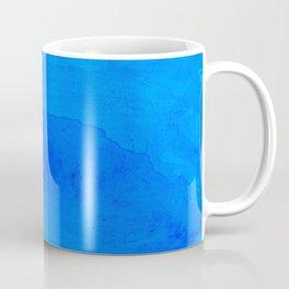 DARK BLUE WATERCOLOR BACKGROUND  Coffee Mug