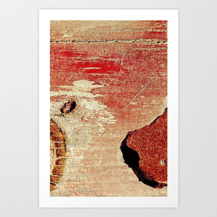 """Red Wood"" Art Print"